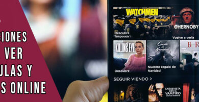 aplicaciones para ver películas y series